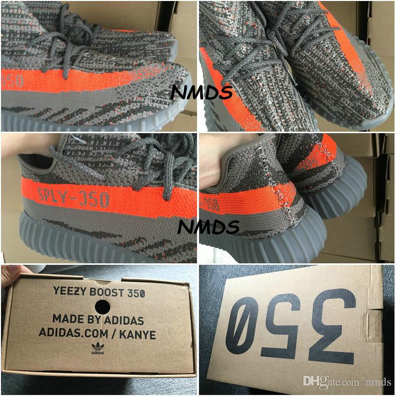 e45db7706e1 Adidas Yeezy 350 Boost v2 Core Black Red CP 965 2 Size 7 UK 6.5