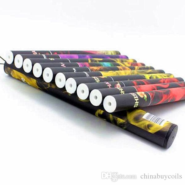Eshisha China E ShiSha Time Disposable Cigarette E HOOKAH 500 Puffs Various Fruit Flavors Colorful SHISHA TIME Pens Electronic Cigarette