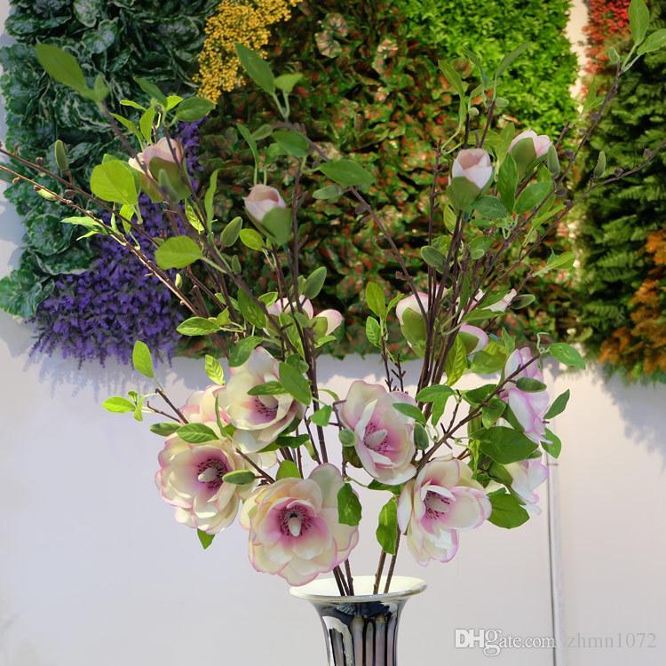 Ретро Юлань моделирование цветок растения цветы, свадебные принадлежности Оптовая украшения дома декоративно-прикладного искусства