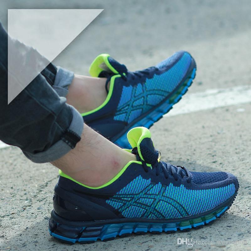 Compre 2019 Novo Asics Gel Quantum 360 Cm T9001   T5801 Designer De Tênis De  Corrida Dos Homens Originais De Qualidade Superior Botas Athletic Sport  Sneaker ... 5e8b03c2de3bd