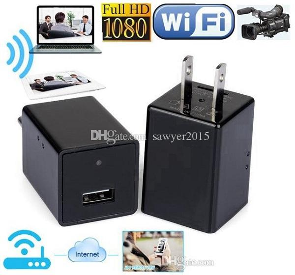 1080P HD USB Plug camera Z99 US / EU caricabatterie wireless wifi P2P IP fotocamera AC adattatore presa telecamera di sorveglianza wifi con scatola al minuto