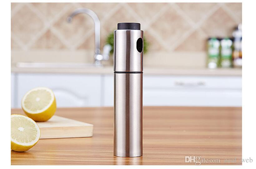 8ea0eacc026b barbecue essential tools oil pump sprayer oliver oil dispenser spray  stainless steel bottle kitchen tools for cooking BBQ saladin injector 7