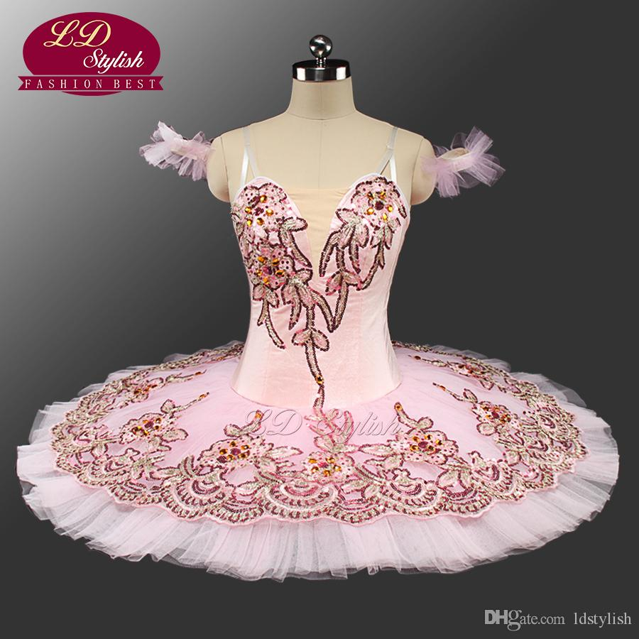 2019 NEW Pink Classical Ballet Tutu Adult Pancake Tutu Ballet Professional  Ballet Tutus Pink Sleeping Beauty Tutu Costumes LD0044 From Ldstylish, ...