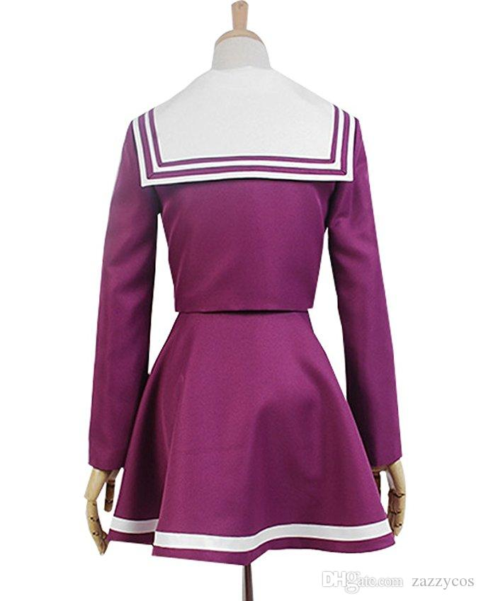 NO JUEGO NO VIDA Shiro Sailor Suit Cosplay Uniforme