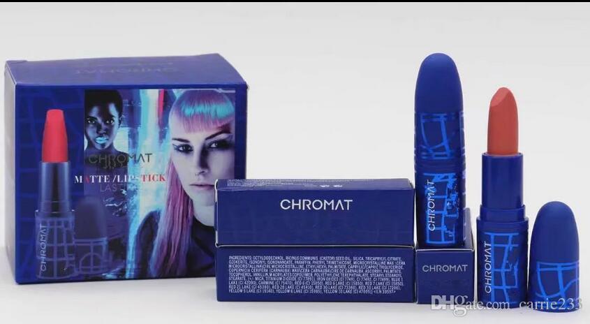 Hot NEW Makeup Lipstick Chromat AUGMENTED REALITY Lipstick Matte Lipstick chromat long lasting