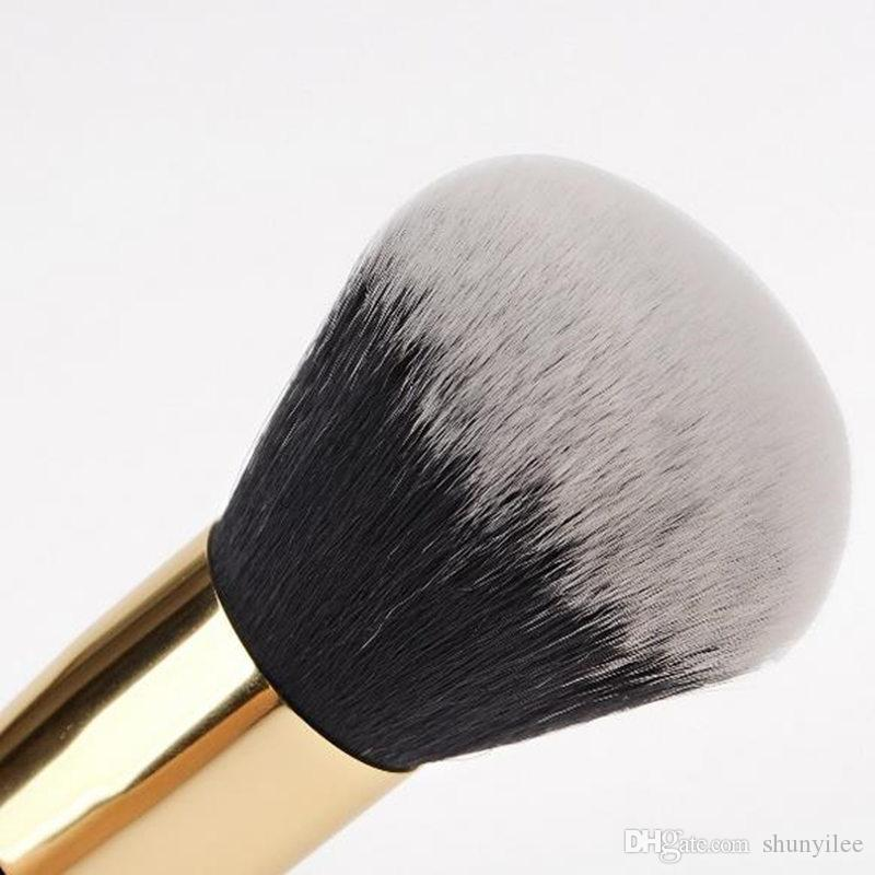 New Fashtion Large Round Head Buffer Foundation Powder Powder Pennelli Plump Round Brush Strumenti BB Cream F20171203