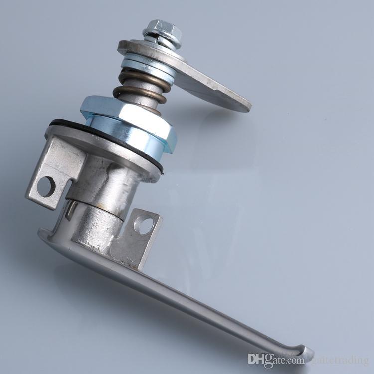 electrical cabinet door stainless steel handle knob Cam lock distribution box lock mechanical lock hardware Equipment part Supply