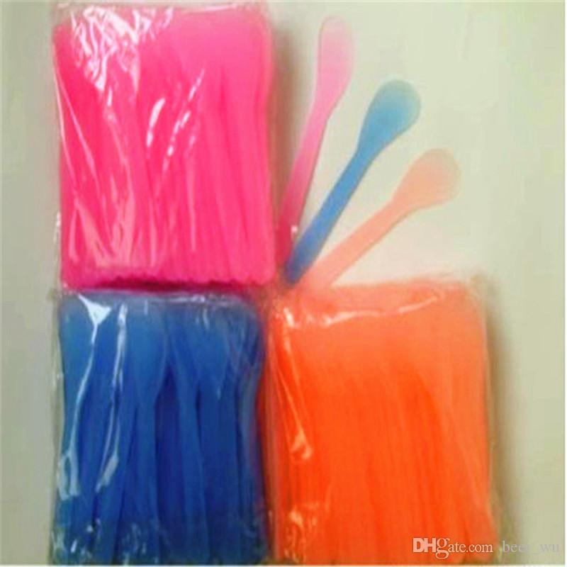 Strumenti necessari di bellezza Spazzola facciale Maschera Cucchiaio Strumenti di trucco Raschietto di plastica Colore casuale Maschera Stick