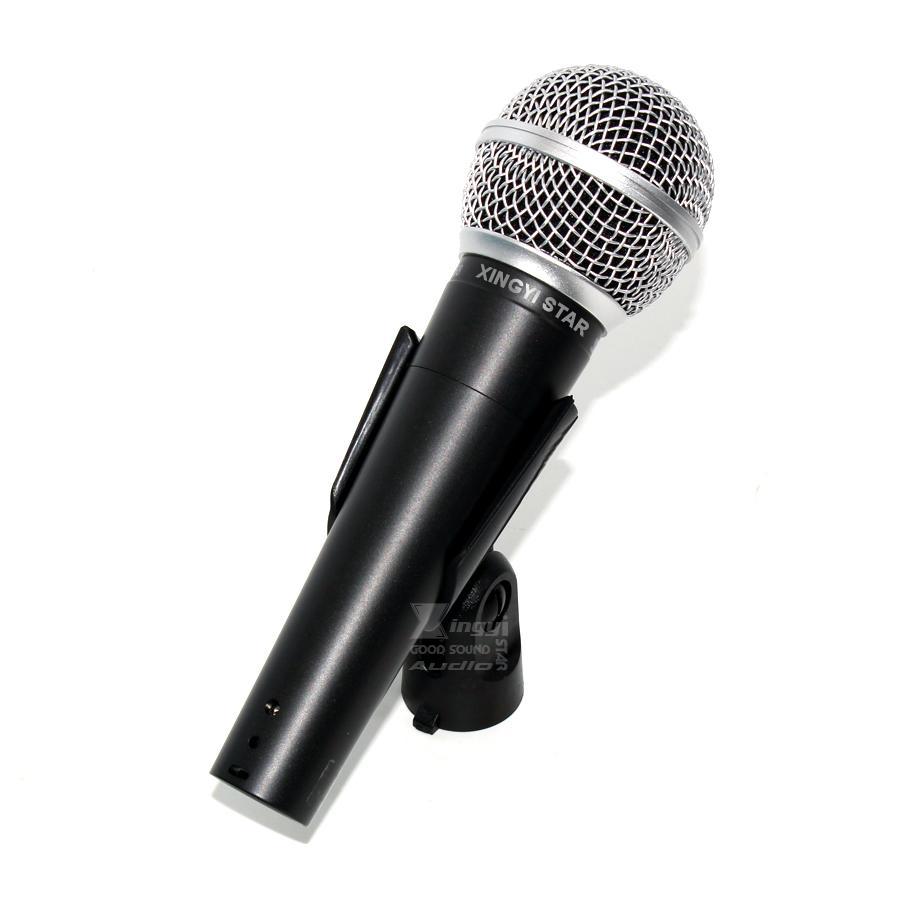 Qualité vocale filaire dynamique cardioïde Karaoke bobine mobile Mic portable Mike SM 58 58LC SM58LC SM58S SM58SK 58SK Microfone