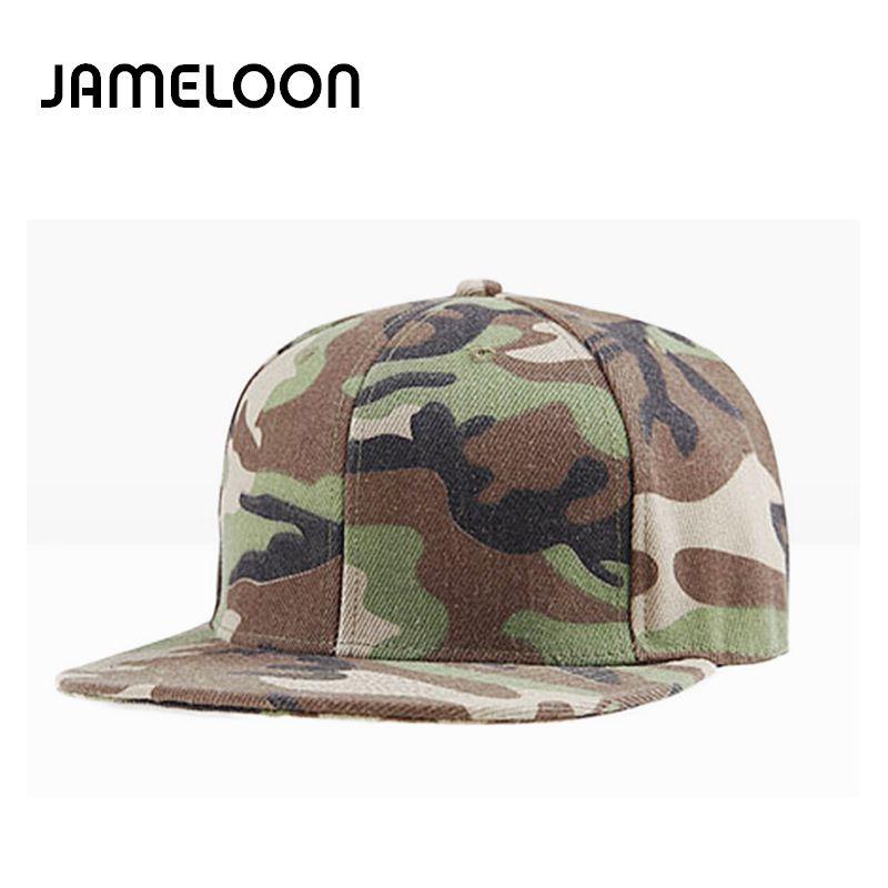 24f96035 JAMELOONunisex Camouflage Baseball Cap Swag Cap Casual Outdoor Sport ...