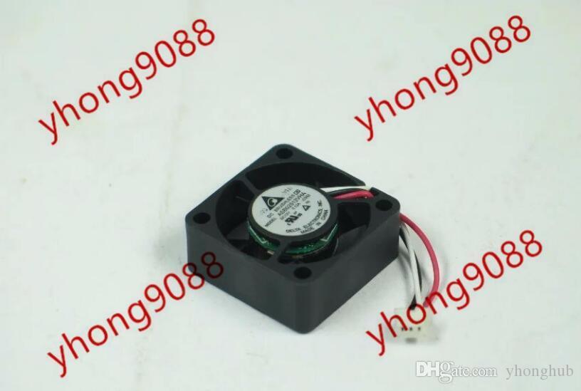Delta ASB02512VHA-CS52 DC 12 V 0.12A 3-wire 3-pin konnektör 25x25x10mm Sunucu Kare Soğutma Fanı