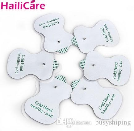 Health Care! NEW White Electrode Pads For Tens Acupuncture Digital Therapy Machine Slimming Massager !