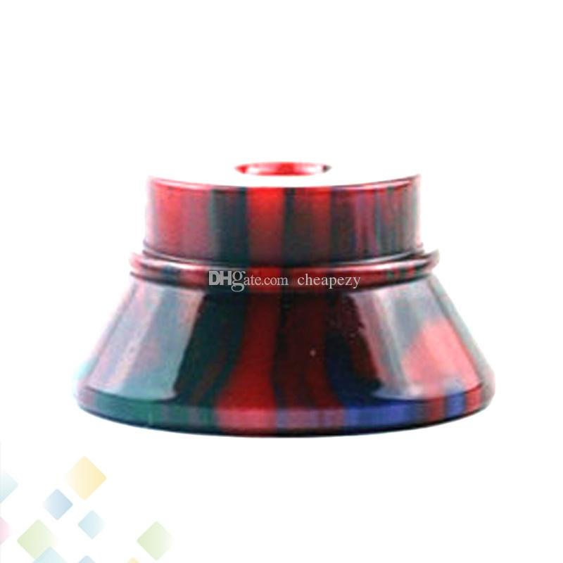 Epoxy Resin Atomizer Stand Electronic Cigarette Display Base E-cigarettes Holder with 510 thread Screw Fit 510 Tank E Cig DHL Free
