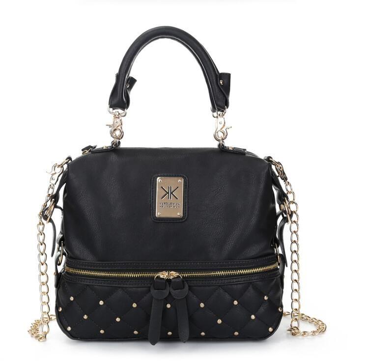 d0d053e6f16 Kardashian Collection Chain Women Leather Handbag Shoulder Bag KK Totes Messenger  Bag Crossbody Bag Handbag Messenger Bags Women Leather Handbag Fashion ...