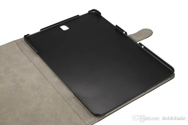 Luxus Vintage PU Ledertasche mit PC Rückseite für Samsung Galaxy Tab S3 9.7 T820 T825 Tablet Flip Fällen + Stylus Pen