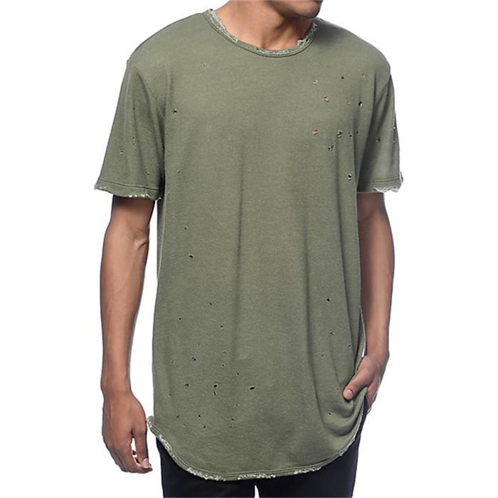 Personalized Blank Tshirt Distressed Mens Damaged Abrasion