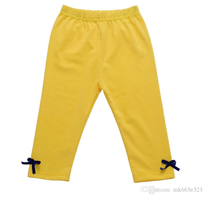 Joli bébé enfants vêtements de filles rayures de tournesol Tops + Leggings jaune tenue ensembles 2017 été enfants fille vêtements ensemble