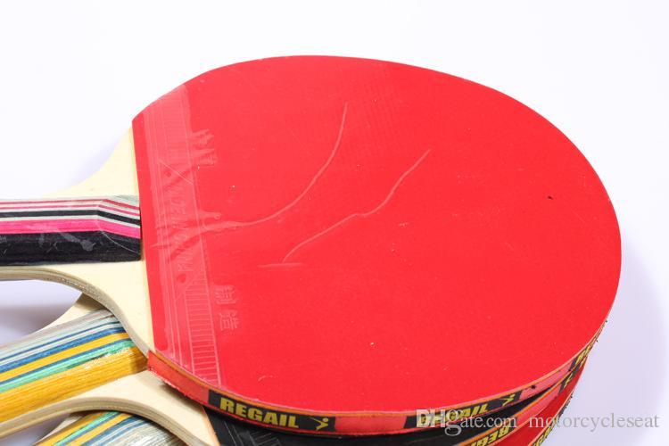 Regail تنس الطاولة مضارب اليد شاكيهاند قبضة اليد ل بينغ بونغ فريق ترينينج ممارسة الترفيه الرياضة لعبة مضارب الخفافيش