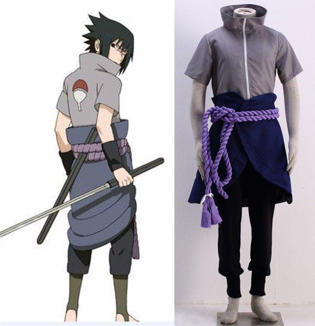 naruto sasuke uchiha outfit cosplay costume naruto sasuke uchiha
