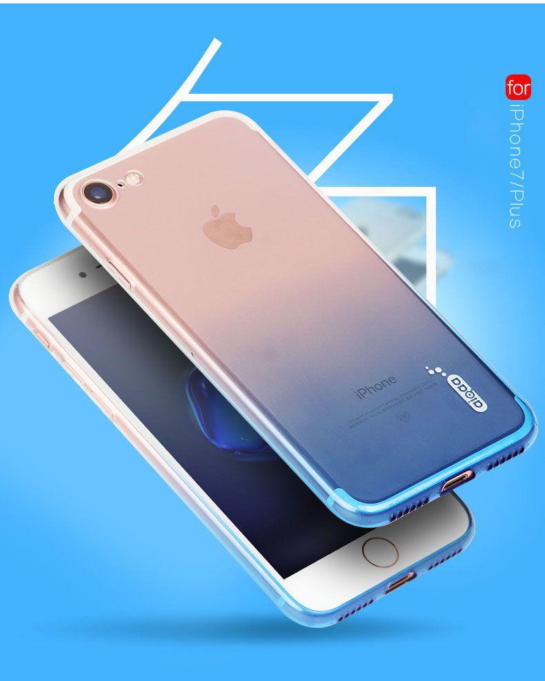 NUOVO Iris TPU cassa del telefono colorata della copertura delle coperture di marca soft phone ultrasottile Simbolo iPhone 6 6s 6plus