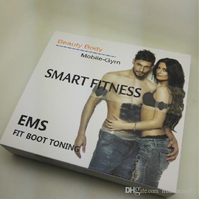 EMS العضلات الشكل التدريب الحبر والعتاد ABS المدرب صالح تمرين لياقة الجسم تدليك استخدام المنزلي