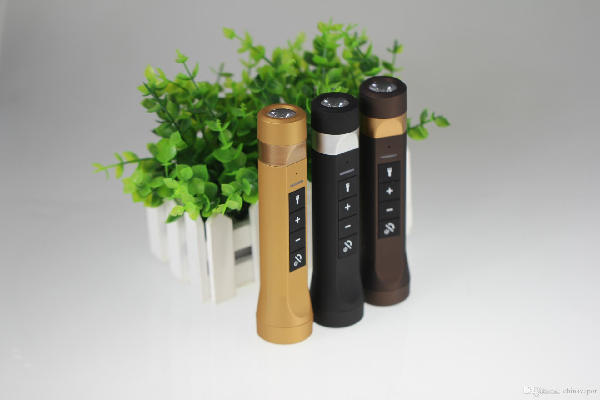 hot Portable multifunction music torch FM Outdoor Sport LED Flashlight Bike Cycling Bluetooth Speakers Power Bank charger for mobile phone