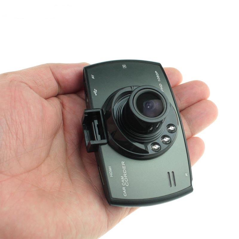 Mini 2.7 pollici LCD Car Camera Novatek 96220 Car DVR Dash Cam Full HD 1080P Videocamera con visione notturna Loop Registrazione G-sensor