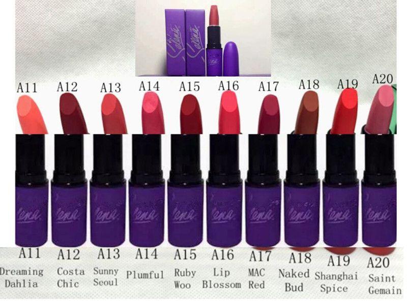 HOT NEW arrival !Selena Collection LIQUID LIPSTICK MATTE high quality lipstick DHL