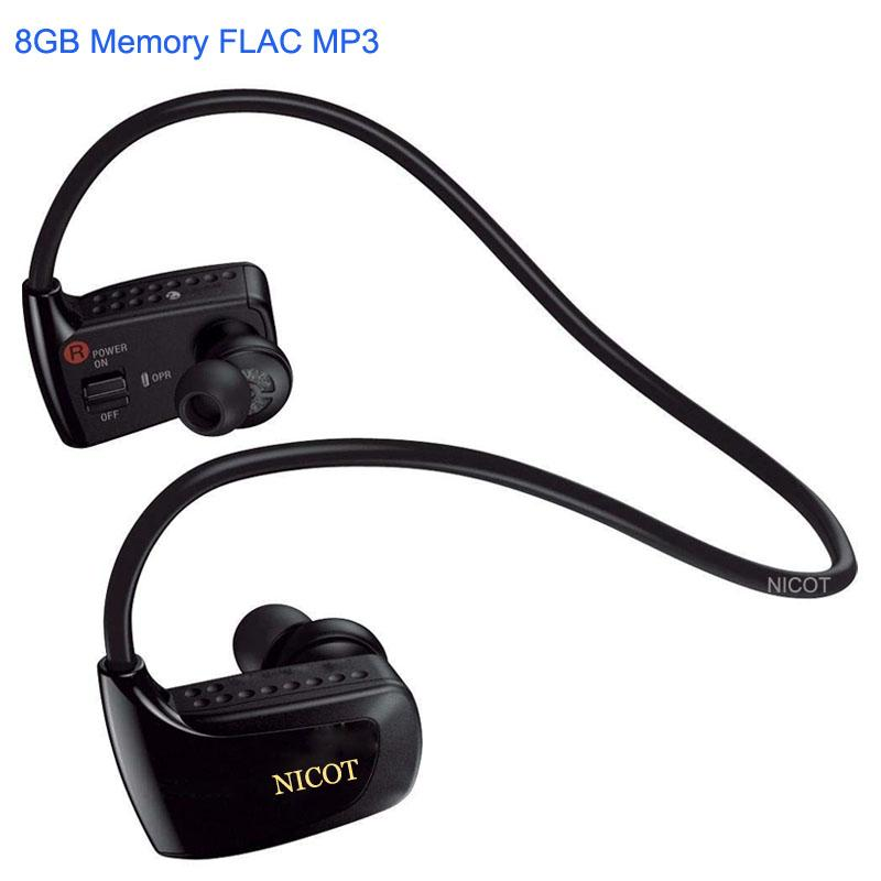 Al por mayor- Al por mayor Nuevo Real Reproductor de MP3 de 8GB para Son Headset W Series Sport NWZ W262 Reproductor Mp3 8G Música gratis Descargar auriculares