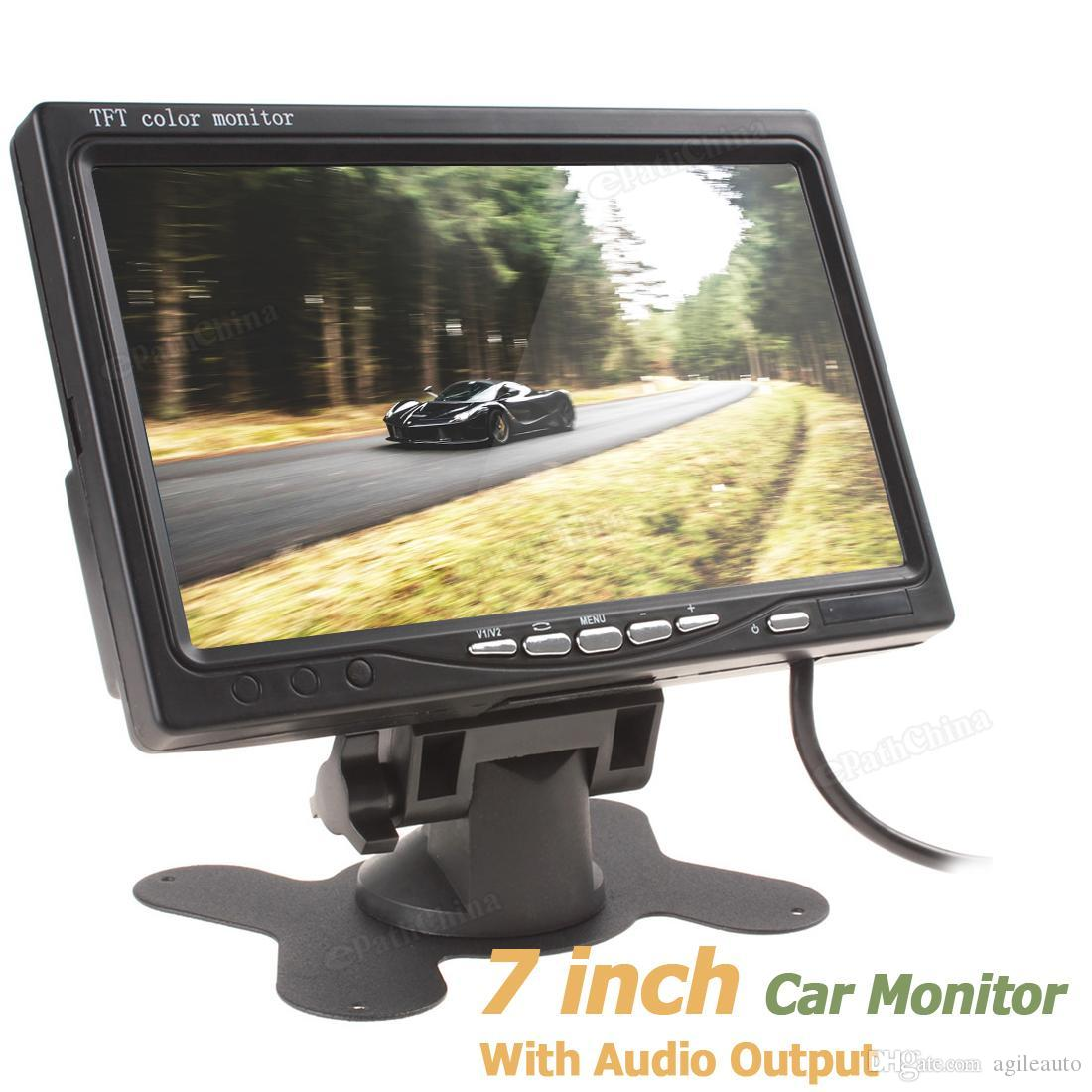 800 x 480 7 Inch Color TFT LCD Screen Car Rear View Monitor with Audio Output CMO_397