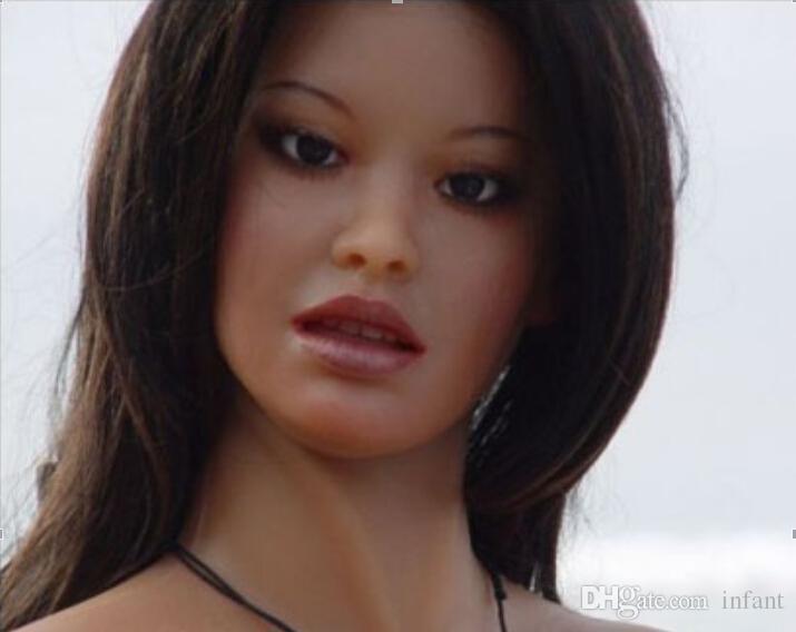 Productos del sexo muñeca del sexo, juguetes sexuales masculinos silicona real tamaño de la vida muñeca dropship