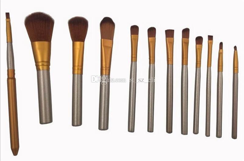 N3 Brush Professional Makeup Cosmetic Facial Brush Kit Metal Box Brush Sets Face Powder Brushes