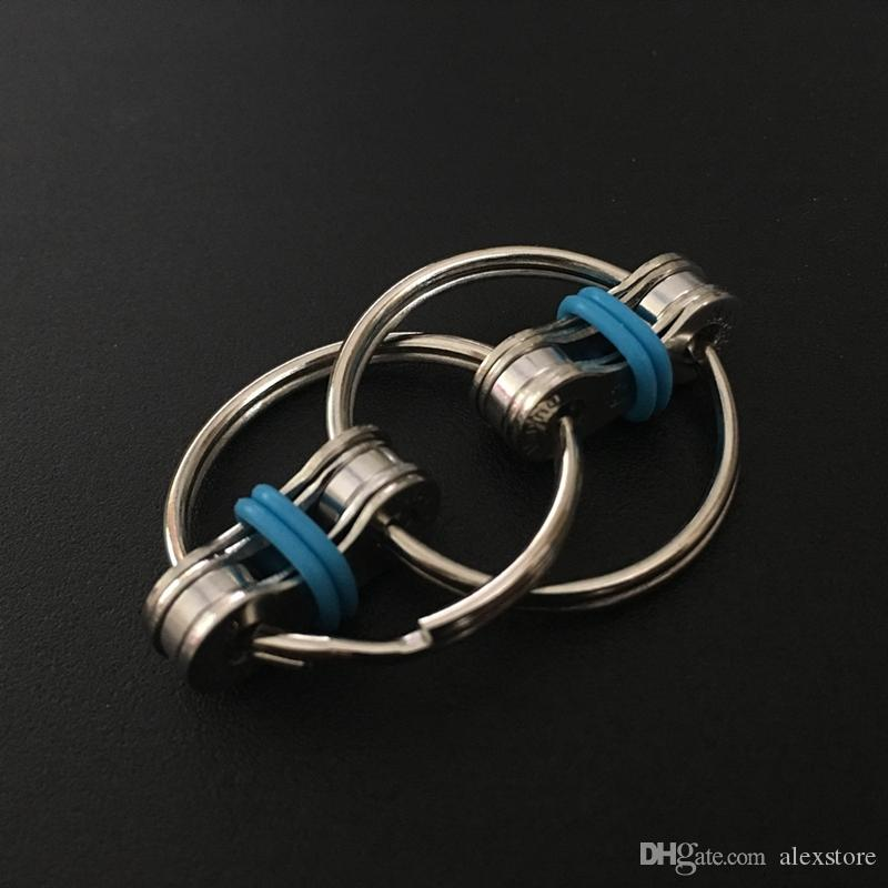 Ключевое кольцо FIDGET SPINNER GYRO HYRO HAND SPINGER METAL TOY FACK COLLDIRGE CHIGHT PLACKNGINNER Игрушки для уменьшения декомпрессии тревога 5 цветов