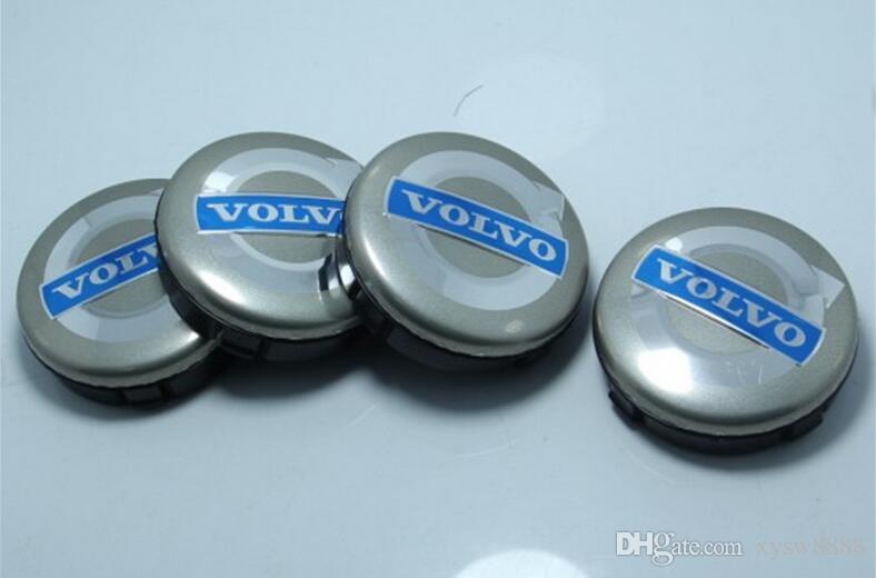 64mm for volvo wheel center caps hub cover car emblem badge black/gray/BLUE C30 C70 S40 V50 S60 V60 V70 S80 XC90