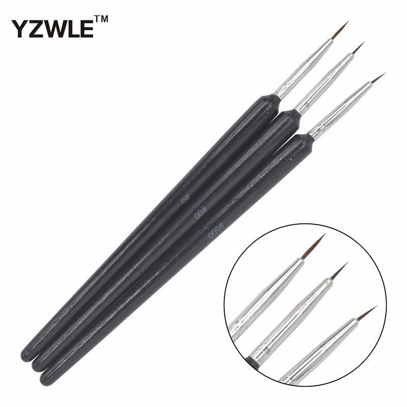 Wholesale Yzwle /Kolinsky Acrylic Nail Brush Professional Brushes ...