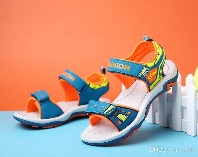 Les Chaussures Sport Sandales Casual Summer Sandale Pour Garçons Mode De Beach En Garçon Cuir Véritable 2017 Enfants qSMpGzVU