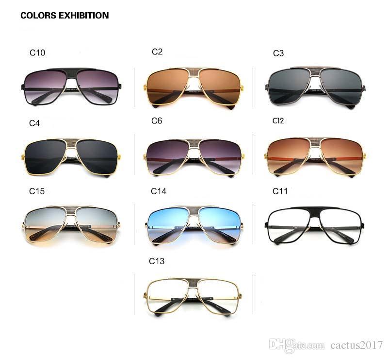 Мода солнцезащитные очки мужчины Марка дизайнер алюминиевые мужские поляризованные солнцезащитные очки Солнцезащитные очки аксессуары мужчины зеркало солнцезащитные очки Goggle