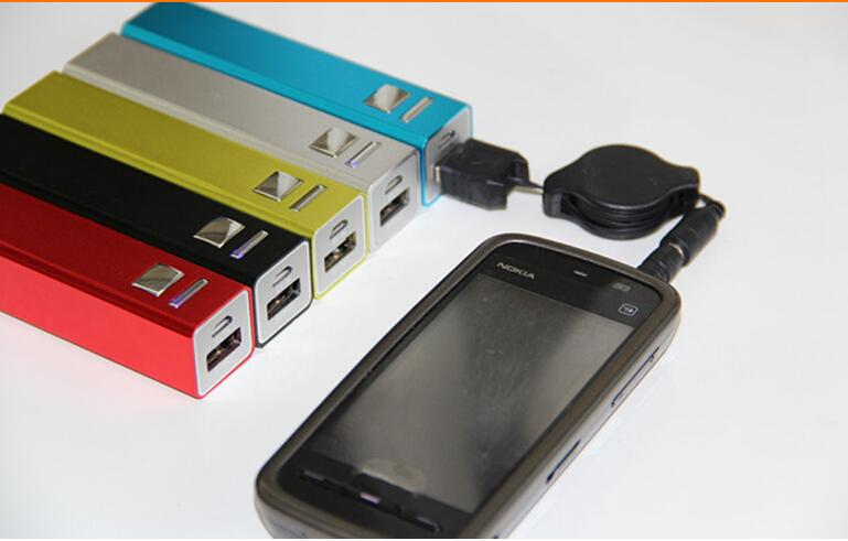2600 mah Charger and Battery 2600mAh USB Charging Ports portable power bank for All Cell Phone table PC MP3