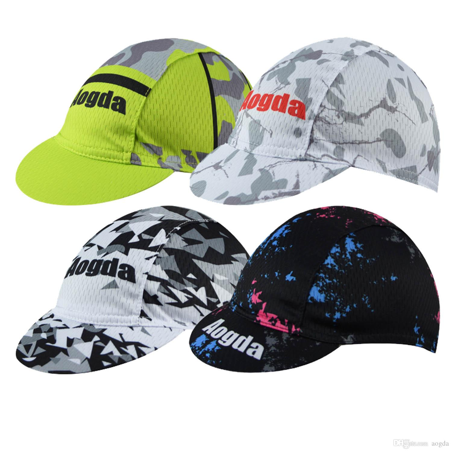 2018 Road Cycling Cap Bike Riding Hat Bicycle For Outdoors Sports Cheaper Wearproof Caps From Aogda 634