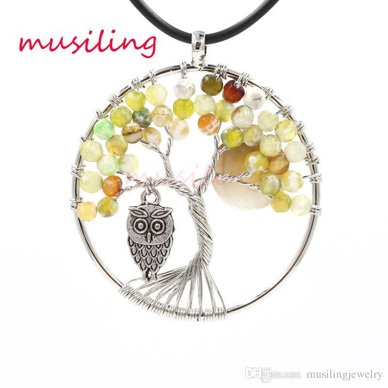 Pendenti Pendenti Pendenti in pietra naturale Pendenti in pietra naturale Accessori Opal Lapislazzuli in cristallo ecc. Pietra Amuleto Gioielli di moda