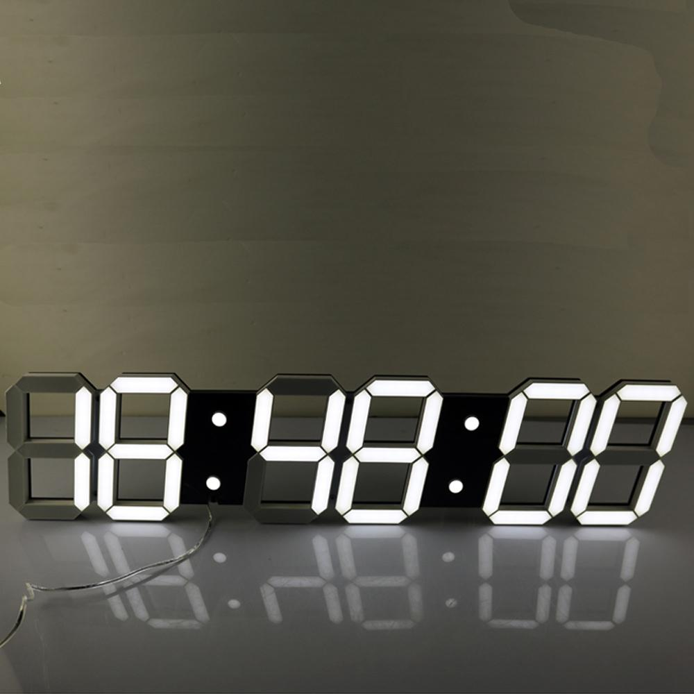 Wholesale Super Large Digital Led Alarm Clock Wall Clock Remote