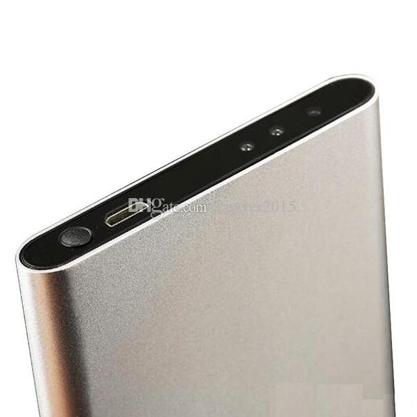 Caméra de banque de puissance HD vision nocturne HD 1080p Mini caméra 5.0MP COMS Banque de puissance ultra-mince enregistreur vidéo numérique DVR