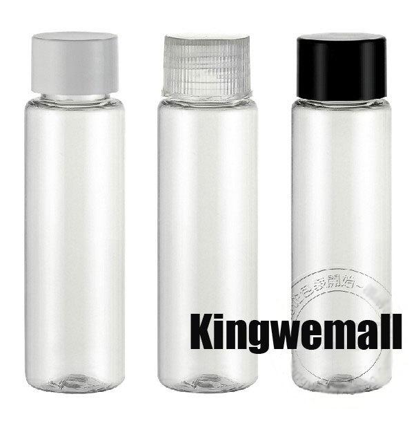 Free Ship,Transparent 100ml Plastic Cylinder Bottle Container with cola cap for Lab Liquids Solids Collecting NEW