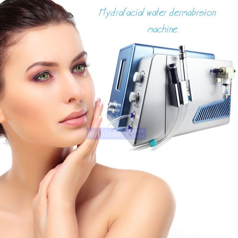 modèle 2017new oxygène portable microdermabrasion visage diamant Hydro microdermabrasion peler la peau du visage nettoyage machine spa anti-âge
