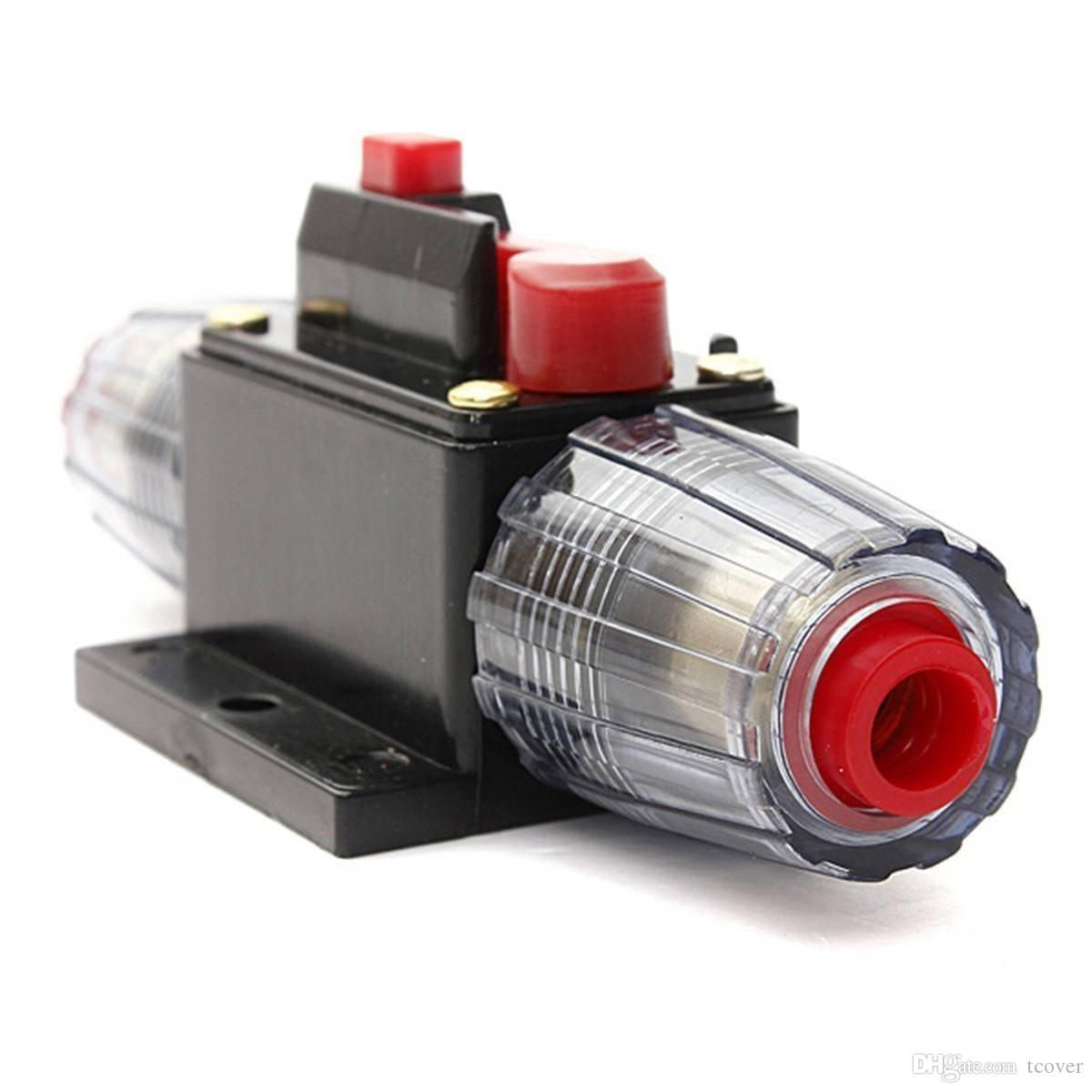 30A Leistungsschalter Reset Audio Circuit Breaker Auto 12V System Inline Fuse
