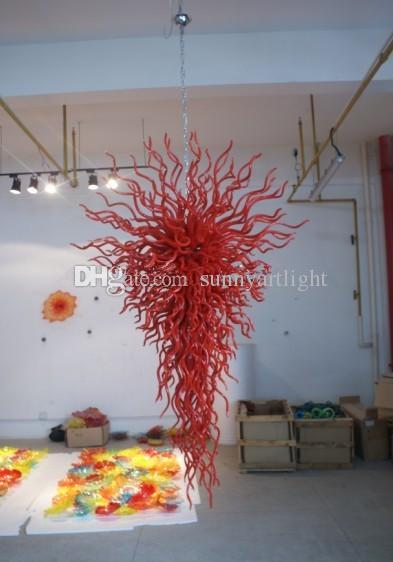 Modern Large Contemporary Chandelier Lighting 110v/120v/220v/240v European Lamp New Modern Luxury Hand Blown Glass