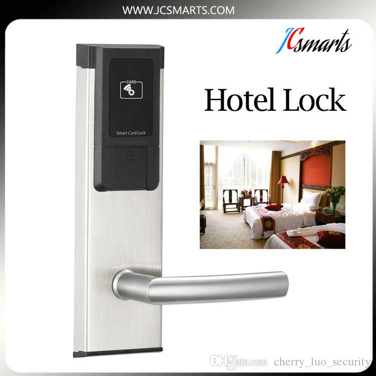 Exceptional Italian Door Locks RFID Digital Key Card Hotel Door Lock System With  Stainless Steel Panel/
