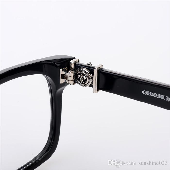 Marke-2017 Chrome Box lunch-ein Oculos De Grau Myopie Brillen Myopie Rahmen Männer Brillen Frauen Brillen Japan Marke Optischer Rahmen