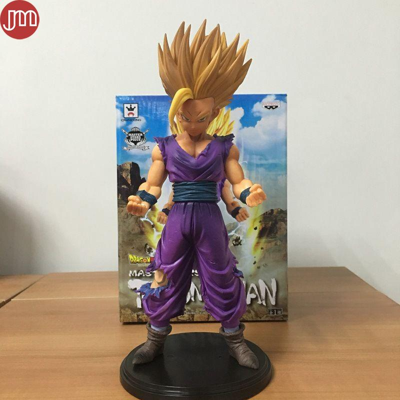 New Dragon Ball Z Super Saiyan Son Gohan Action Figures Master Stars Piece Dragonball Figurine Collectible 25cm Anime Model Toy