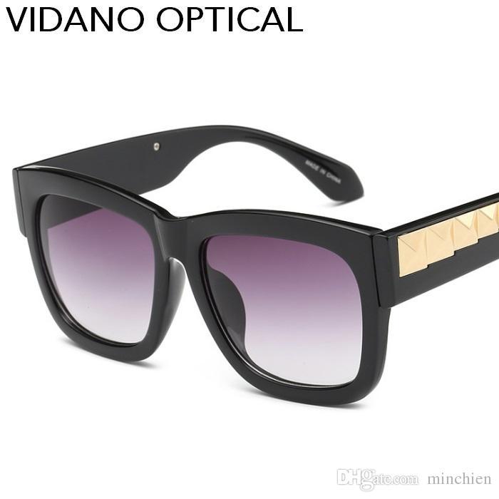 9751aa0540 Vidano Optical New Arrival Luxury Smart Casual Square Sunglasses For Men    Women Fashion Designer Europe Street Style Sun Glasses UV400 Woman  Sunglasses ...